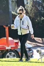 Ellen Pompeo - Hike in Los Angeles 10/10/2021