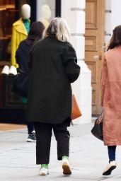 Emilia Clarke - Shopping in London 10/11/2021