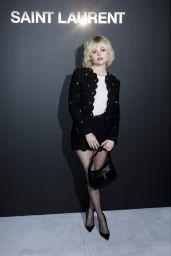 Emily Alyn Lind - Saint Laurent Womenswear Spring/Summer 2021 Show in Paris 09/28/2021