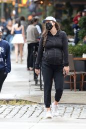 Emily DiDonato on a Stroll in NYC 10/10/2021