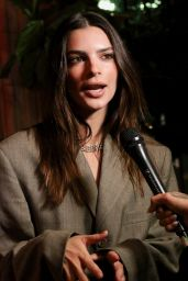Emily Ratajkowski - CoinGeek BSV Blockchain NFT Auction and Cocktail Party in NY 10/04/2021