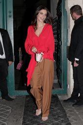 Emily Ratajkowski - Leaving Valentino Party in Paris 10/01/2021