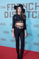 """Frederique Bel – """"The French Dispatch"""" Preview in Paris 10/24/2021"""