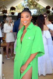 Gabrielle Union – 2021 Veuve Clicquot Polo Classic in Pacific Palisades
