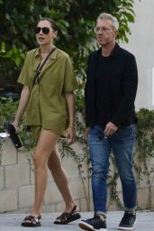 Gal Gadot and Yaron Varsano - Out in West Hollywood 10/05/2021