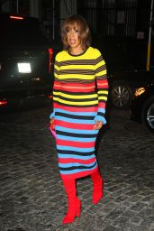 Gayle King at the SNL Afterparty at Zero Bond in NY 10/09/2021
