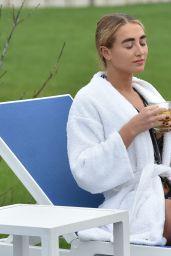 Georgia Harrison in a Bikini - Glass House Retreat Spa in Essex 10/05/2021