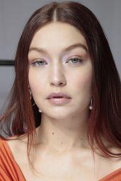 Gigi Hadid - Backstage at Coperni Spring Summer 2022 Fashion Shown in Paris 09/30/2021