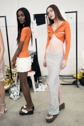 Gigi Hadid Walks Coperni Womenswear Spring/Summer 2022 Show in Paris 09/30/2021
