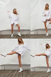 Hailey Bieber - Superga Spring/Summer Campaign 2021