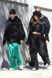 Hailey Rhode Bieber and Justin Bieber - Arrive at the SoHo House in LA 10/02/2021