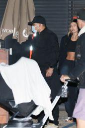 Hailey Rhode Bieber - Arrives for Dinner at Nobu in Malibu 10/11/2021