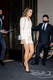 Hannah Jeter in a Chanel Ensemble - New York 10/06/2021