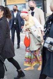 Helen Mirren – Leaving L'Oreal Paris 2021 Show 10/03/2021
