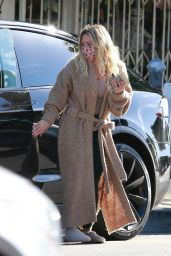 Hilary Duff - Out in Studio City 10/09/2021