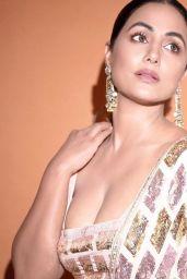 Hina Khan – Live Stream Video and Photos 10/04/2021
