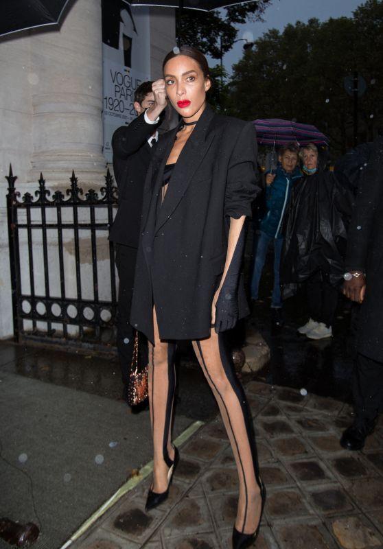 Ines Rau – Vogue Paris Celebrating its 100th Anniversary at the Palais Galliera in Paris 10/01/2021