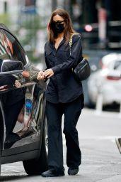 Irina Shayk - Out in New York City 10/12/2021