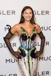 """Irina Shayk - """"Thierry Mugler : Couturissime"""" Photocall in Paris 09/28/2021"""