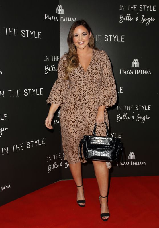 Jacqueline Jossa - In Style Launch Party at Piazza Italiano in London 10/19/2021