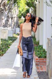 Jasmine Tookes Street Style 10/11/2021