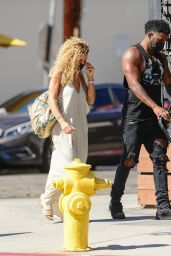 Jena Frumes - Out in West Hollywood 10/10/2021