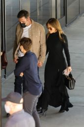 Jennifer Lopez and Ben Affleck - Arrive at an Event in West Hollywood 10/03/2021