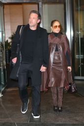 Jennifer Lopez and Ben Affleck - Mandarin Hotel in NYC 10/10/2021