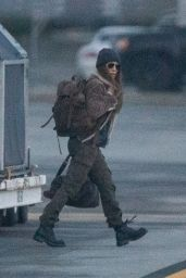"""Jennifer Lopez - Filming """"The Mother"""" in Vancouver 10/06/2021"""