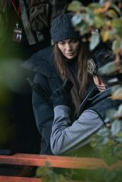"""Jennifer Lopez - """"The Mother"""" Filming Set in Vancouver 10/07/2021"""