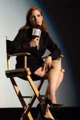 """Jessica Chastain - Speaks During the Film Independent Screening of """"The Eyes Of Tammy Faye"""" in LA 10/16/2021"""
