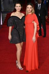 """Jessica Henwick and Madelyn Cline - """"No Time To Die"""" World Premiere in London 09/28/2021"""