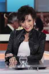Joan Collins - Good Morning Britain TV Show in London 10/13/2021