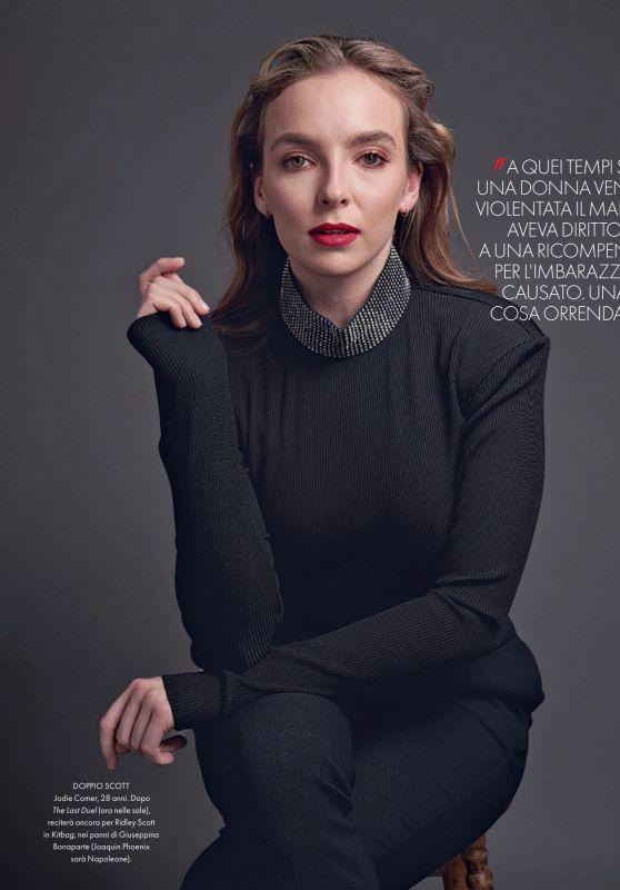 Jodie Comer – ELLE Magazine Italy 11/23/2021 Issue