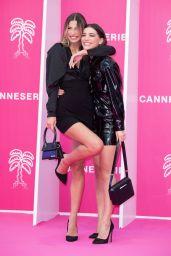 Julia Atman and Kleofina Pnishi – Cannes International Series Festival Opening Ceremony 10/08/2021