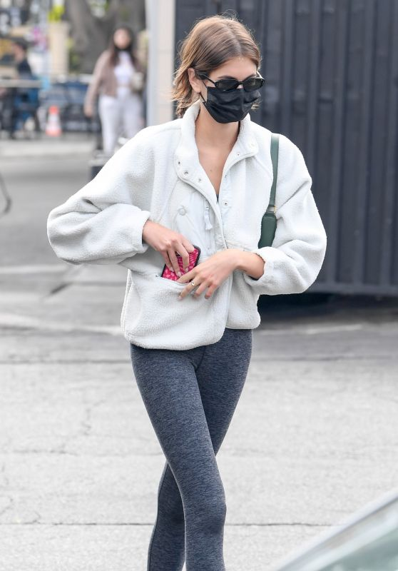 Kaia Gerber and Jacob Elordi - Out in Los Feliz 10/11/2021