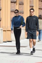 Kaia Gerber in Tights - New York City 09/30/2021