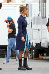 "Kaley Cuoco - ""The Flight Attendant"" Set in Los Angeles 10/07/2021"