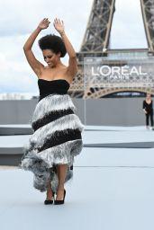 """Kat Graham – """"Le Defile L'Oreal Paris 2021"""" Show in Paris"""