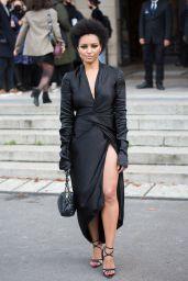 Kat Graham – Leaving L'Oreal Show at Paris Fashion Week 10/03/2021