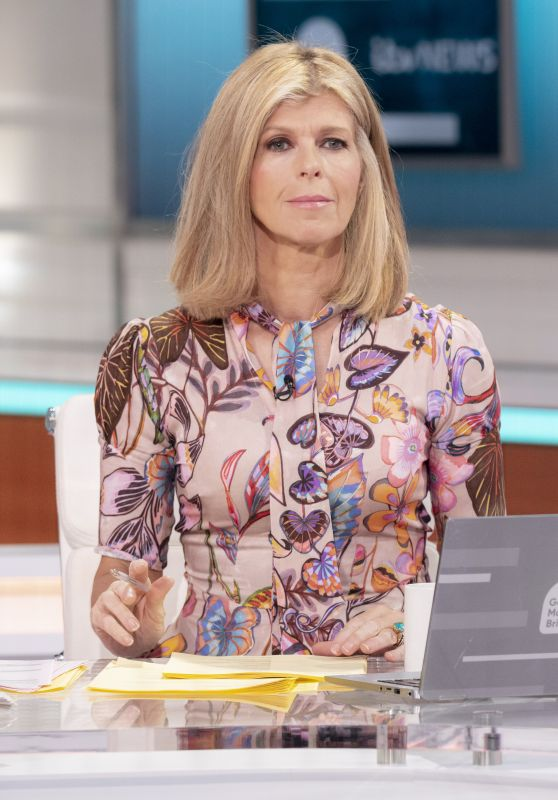 Kate Garraway – Good Morning Britain TV Show in London 10/21/2021