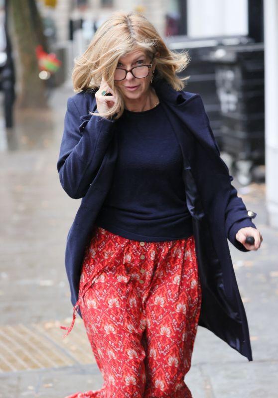 Kate Garraway - Out in London 10/15/2021