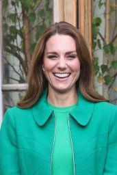 Kate Middleton - Visits Kew Gardens in Hounslow 10/13/2021
