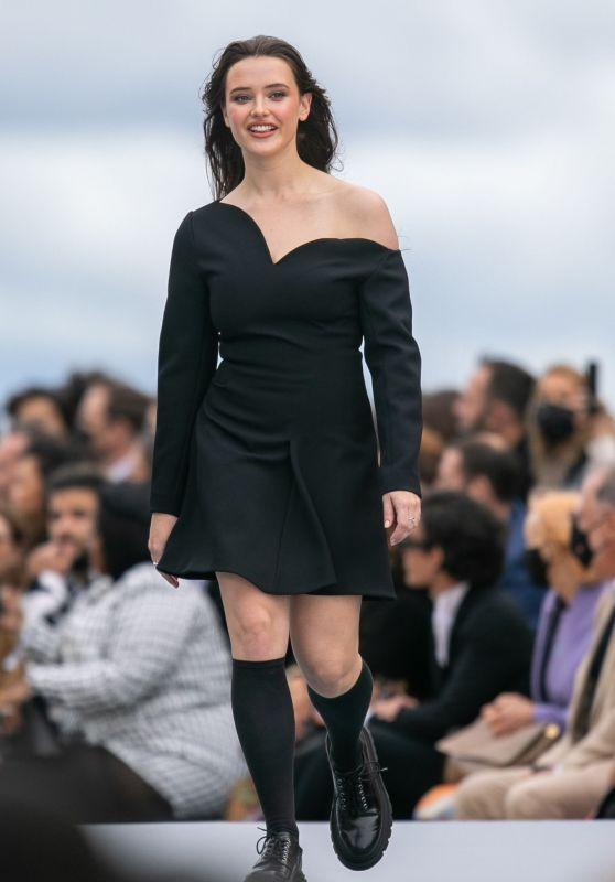 """Katherine Langford – """"Le Defile L'Oreal Paris 2021"""" Show in Paris"""