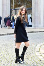 Katherine Langford – Miu Miu Fashion Show in Paris 10/05/2021