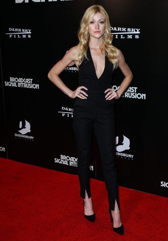 "Katherine McNamara - ""Broadcast Signal Intrusion"" Premiere in Westwood 10/19/2021"