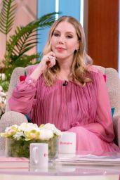 Katherine Ryan - Lorraine TV Show in London 09/29/2021