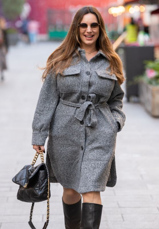 Kelly Brook - Out in London 10/22/2021