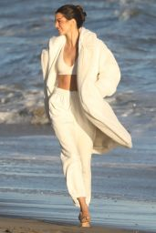 Kendall Jenner - Photoshoot for Alo Yoga Campaign in Malibu 10/13/2021
