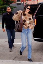 Kendall Jenner Street Style - New York City 10/13/2021